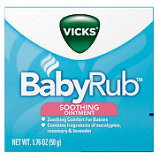 Vicks BabyRub Soothing Ointment For Babies