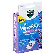 Vicks Calming Vapors Vapopads Lavender