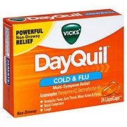 Vicks DayQuil Cold & Flu Multi-Symptom Relief LiquiCaps