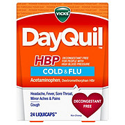 Vicks DayQuil HBP Cold & Flu LiquiCaps