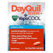 Vicks DayQuil Severe Cold & Flu Relief Caplets
