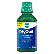 Vicks NyQuil Cold & Flu Nighttime Relief - Shop Cold ...