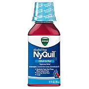 Vicks NyQuil Cold & Flu Nighttime Relief Berry Liquid