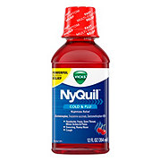 Vicks NyQuil Cold & Flu Nighttime Relief Cherry Liquid