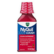 Vicks NyQuil Cough Suppressant Soothing Cherry Liquid