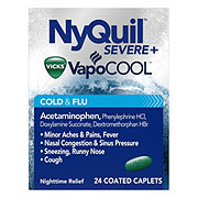 Vicks NyQuil Severe Cold & Flu Caplets