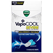 Vicks VapoCOOL Drops Medicated Severe