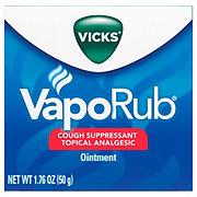 Vicks VapoRub Cough Suppressant Topical Analgesic Ointment