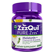 Vicks Zzzquil Pure Zzzs Melatonin Gummies