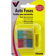 Victor American Auto Fuse Assortment with Puller