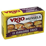 Vigo Mussels in Marinade Sauce