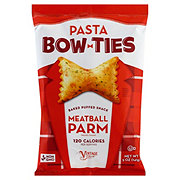 Vintage Pasta Bow Ties Meatball Parm Baked Puff Snacks