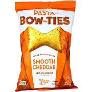 Vintage Pasta Bow Ties Smooth Cheddar Baked Puff Snacks