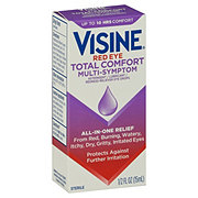 Visine Totality Multi-Symptom Relief Lubricant/Astringent/Redness Reliever Eye Drops