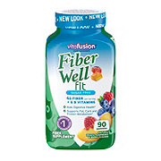 VitaFusion Fiber Well Peach, Strawberry, & Berry Weight Management Gummies