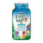VitaFusion Fiber Well Peach, Strawberry, & Berry Weight Management Gummies