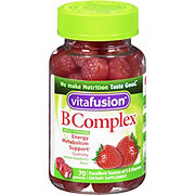 VitaFusion Strawberry Flavor B Complex Gummies