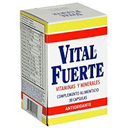 Vital Fuerte Vitamins and Minerals Capsules