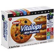 Vitalicious VitaTops Wild Blueberry Muffin Tops