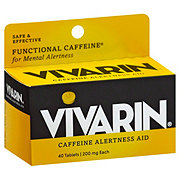 Vivarin Caffeine Alertness Aid 200 Mg Tablets