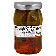 Vlasic farmer 39 s garden kosher dill spears shop relish and pickles at heb for Vlasic farmer s garden pickles