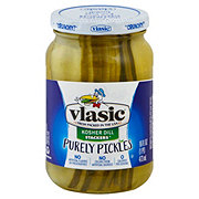Vlasic Purely Pickles Kosher Dill Stackers