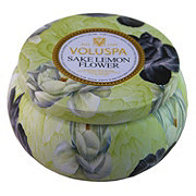 VOLUSPA Voluspa 2 Wich Tin Sake Lemon Flower