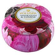 VOLUSPA Voluspa 2 Wick Tin Amaranth Jasmine
