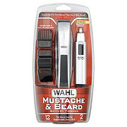 wahl mustache and beard battery trimmer shop electric shaver and trimmer at. Black Bedroom Furniture Sets. Home Design Ideas