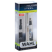 Wahl Stainless Steel Lithium Pen Trimmer