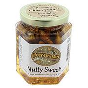 Walker Honey Farm Premium Clover Honey & San Saba Pecans