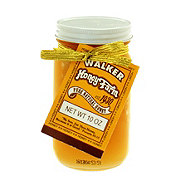 Walker Honey Farm Pure Natural Honey with Comb in a Jar