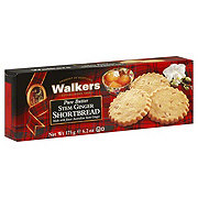 Walkers Pure Butter Stem Ginger Shortbread Cookies