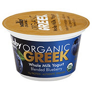 Wallaby Organic Blueberry Blended Greek Yogurt - Single Serving