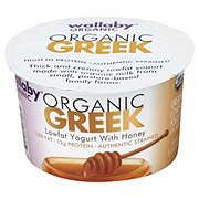 Wallaby Organic Greek Low Fat with Honey Yogurt