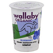 Wallaby Organic Low Fat Blueberry Yogurt