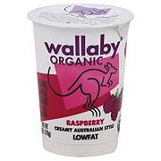 Wallaby Organic Low Fat Raspberry Yogurt