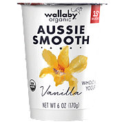 Wallaby Organic Whole Milk Vanilla Yogurt