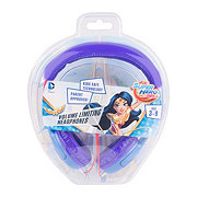 Warner Bros DC Superhero Girls Wiredd Kid Headphones