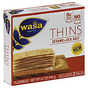 Wasa Thins Sesame & Sea Salt Flatbread