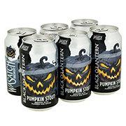 Wasatch Black O' Lantern Pumpkin Stout Beer 12 oz Cans