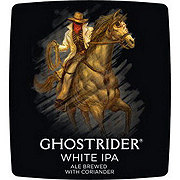 Wasatch Brewery Ghostrider White Indian Pale Ale Beer 12 oz  Cans