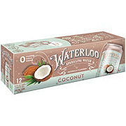 Waterloo Coconut Sparkling Water 12 oz Cans