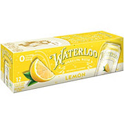 Waterloo Lemon Sparkling Water 12 oz Cans