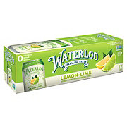 Waterloo Lime Sparkling Water 12 oz Cans