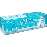 Waterloo Original Sparkling Water 12 oz Cans