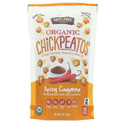 Watusee Foods Organic Spicy Cayenne Chickpeatos