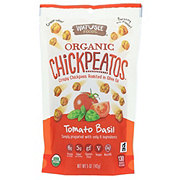 Watusee Foods Organic Tomato Basil Chickpeatos