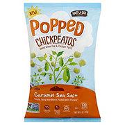 Watusee Foods Popped Caramel Sea Salt Chickpeatos