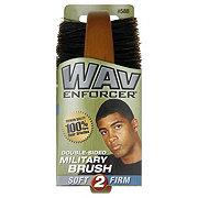 Wav Enforcer Double-Sided Military Brush